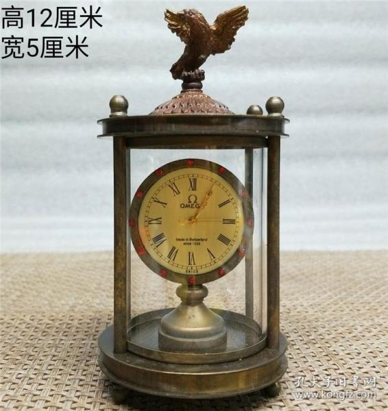 铜小鹰表机械钟表