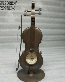 小提琴表机械钟表