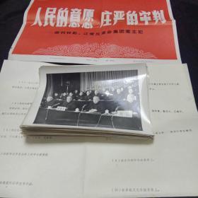 审判林彪,江青反革命集团案主犯(照片49张)