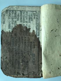 清代木刻线装本《万宝全书》(卷9至卷12)