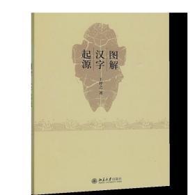 正版现货 图解汉字起源 王祥之 著 北京大学出版社 9787301157565