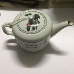 德化白茶壶