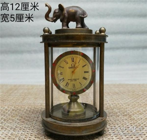 铜象机械钟表