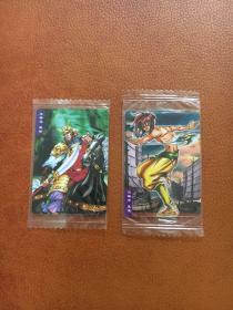小当家食品卡(水浒英雄传)40.70两张原袋