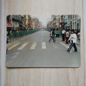 彩色照片:沈阳中街