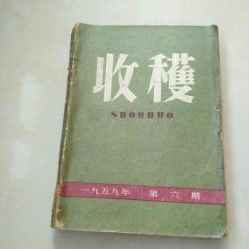 收获1959年第6期