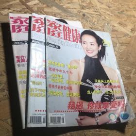 家庭健康2006年第2.4.5期  章子怡  孙宁  霍思燕