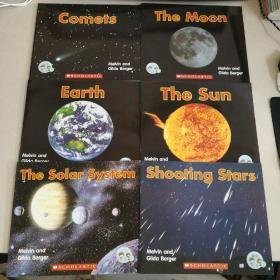 (英文原版书) : Shooting Stars ,The Solar System ,Comets ,The Sun ,Earth ,The Moon ,