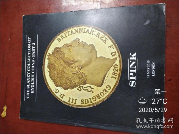 the slaney collection of english coins part spink 2