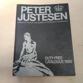 PETER JUSTESEN DUTY-FREE CATALOGUE 1986