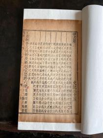 罕见!明万历三年,白棉纸,精刻精印本《史记-律书/历书》2卷一册全。内有古人朱墨题跋两通!