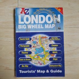 LONDON BIG WHEEL MAP
