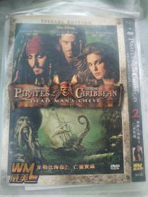 加勒比海盗2亡灵宝藏 DVD电影 一区+日二+三区+六区