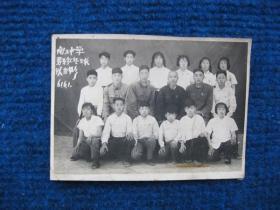 1961年南王中学(定襄)男女乒乓球队合影
