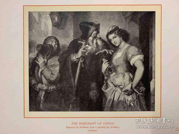 Shakespeare rare print collection 莎士比亚著作珍稀版画