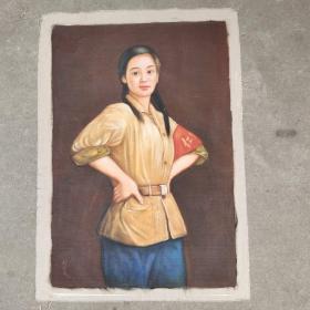 油画刘昌文之作品