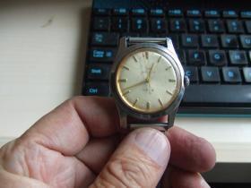 老手表:老款17钻上海男式防震机械手表(A611)
