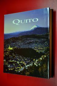 QUITO 基多的教堂建筑装饰艺术 西班牙语原版 大16开布面精装400页