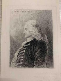 Henry Fielding木刻版画 Holywell Street版画