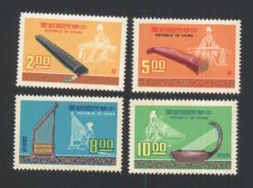 专122音乐邮票(六十五年版)