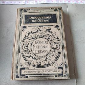 Discoveries Made upon Men and Matter and Some Poems