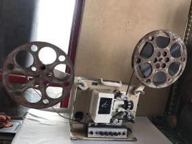 老电影放映机,长江牌电影机,正常使用