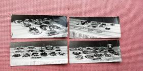 70年代烟台鲁菜大比武老照片(烟台饭店,大众饭店,东方红饭店,东风饭店)一组15张
