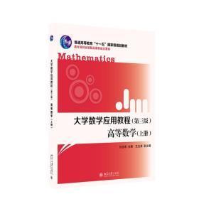 大学数学应用教程(第三版)高等数学(上册)仉志余 著 北京大学出版社