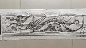 汉代画像石刻艺术之杰作 苍龙觉醒 石出自南阳 壮美汉风  欢迎大家转发 宏扬中华优秀汉文明 重掌世界文化话语权