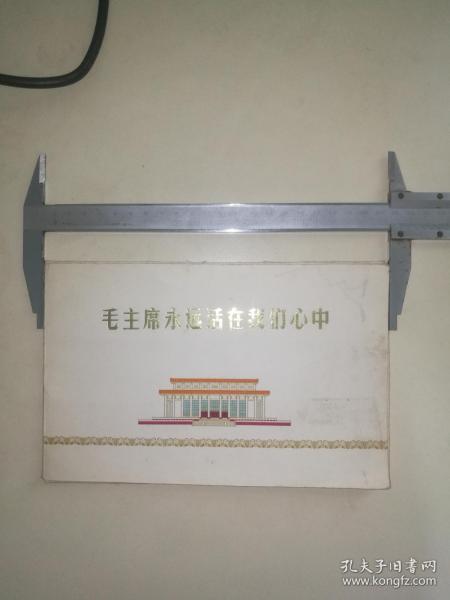 伟大领袖毛主席永远活在我们心中,12张全,有六张雕刻版,北京印钞厂(541)敬制,品好