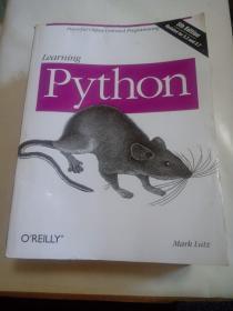 Learning Python 英文原版