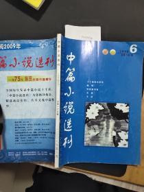 中篇小说选刊 文学双月刊 总第165期 2008年第六期