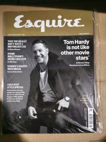 Esquire UK 君子杂志 2017年1-2月 英文版