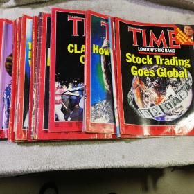 美国时代周刊 TIME1986 年2.4.6.7.8.11.12.23.14.15.16.18.19.20.22.23.25.26.27.29.30. 21本合售