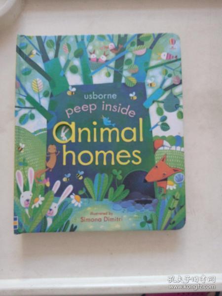 Peep Inside Animal Homes  Board book