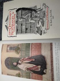 1921年  MRS OVERTHEWAY'S REMEMBRANCES  毛边本 含彩色插图版   儿童读物