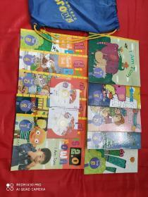 kids brown 2.0 布朗儿童英语 2.0 Level one 第1级 1-10全10册书+练习册+光盘(全新)附赠书包一个