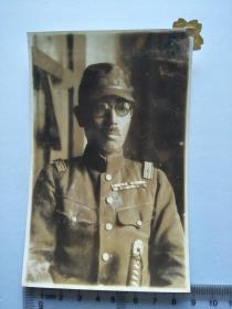 来自日本老照片相册,散页,日军军官,是否是阿部部队