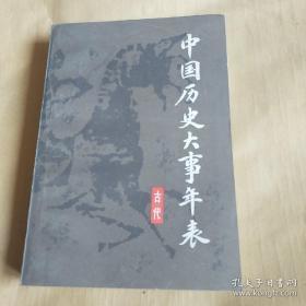 中国历史大事年表