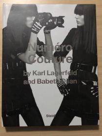 现货  Numéro Couture: By Karl Lagerfield and Babeth Djian摄影集大开本