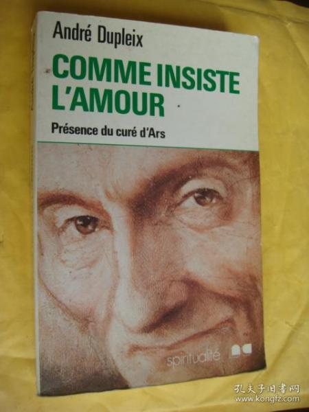 COMME INSISTE L'AMOUR 法文原版 24开