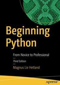 预订2周到货  Beginning Python: From Novice to Professional 英文原版 Magnus Lie Hetland 芒努斯·利·海特兰德 Python基础教程(第3版)