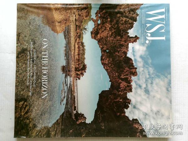 出色WSJ杂志 2013年10月时尚摄影实体杂志可做样板间酒吧等道具