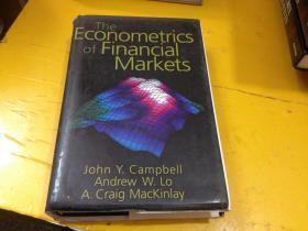 Campbell, John Y.-Econometrics Of Financial Markets BOOKH NEU