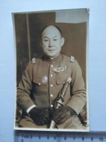 来自日本老照片相册,散页,日军军官
