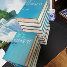 化工百科全书 3.4.5.6.7.8.9.10.12.16.17.18.19.索引,共十四册合售(5缺书衣)