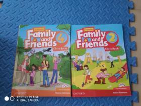 family and friends class book 2.4 【2册合售】