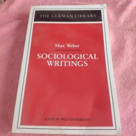 THE german librarary max weber sociological writngs
