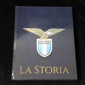 拉齐奥lazio官方120周年纪念画册 意大利原版