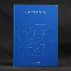 英文原版现货 TASCHEN:NEW YORK STYLE【硬精装 无书衣】